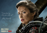Emily Blunt - Rita Vrataski  / Edge of Tomorrow by BUBIMIR-39