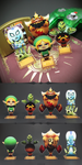 Elegy of Emptiness Standees by Versiris