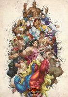 Street Fighter III 3rd Strike by Toshiharu