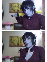 First test of Marshall Lee by SophiePants