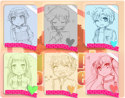 MoE - Mini Event Heart Chart meme by Kemu-ruShi