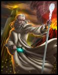 Epic Rap Battles of history Gandalf by SemajZ