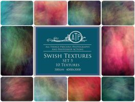 Swish Textures SET 5 by AllThingsPrecious