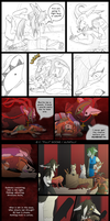 ToH:R4 vs Yomi pages 37-38 by AlfaFilly