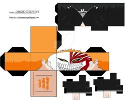 ICHIGO VIZARD BLEACH CUBEE by animepapertoys