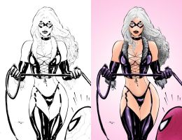 Black Cat - Coloring by wetterink