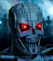 LEGO Terminator T-800 by thire