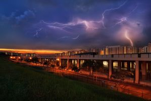 Zeus has come to Singapore by Draken413o