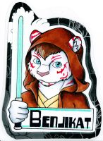Benjikat Badge by dragonmelde