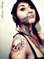 Tattoo the machine by 00kin00