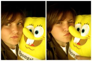 SpongeBOB and me :p by orezNbatata