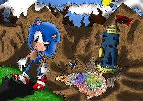 Sonic: On The Edge by CronoCain