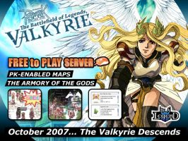 RO Valkyrie loading screen by Ardnaz