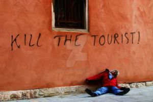 Kill The Tourist by dreamerskreation