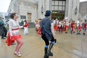 2014 Honk Festival,Noise and Boogie On the Street9 by Miss-Tbones