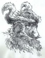 SWAMPTHING-sketch by RONJOSEPH-ARTIST