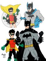 Batman and robin New 52! by ultimatejulio