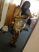My Michael Jackson HIStory Outfit (Gold Pants!) by Glam-Baby