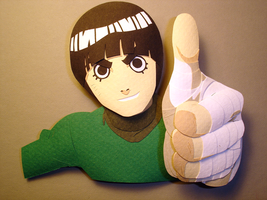 Rock Lee by paperfetish