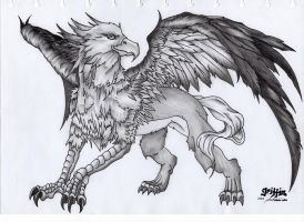 Griffin the Mythical Creature by starz8zstar