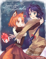 .: Sisters under the Snow :. by Goku-chan