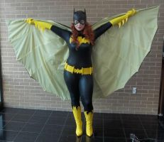 batgirl! Now with cape action! by stitchesandsongbirds