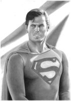 Christopher Reeve Superman 2 by donchild