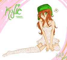 Kylie by flufflebum
