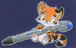 Jay and his Sonic Screwdriver by jeazard