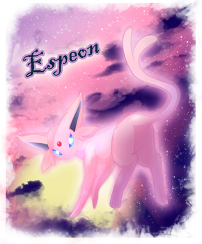 Espeon Done by TGRsam