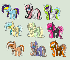 {ADOPTS} Colour Schemes (5/9 LEFT) by sparkIinq