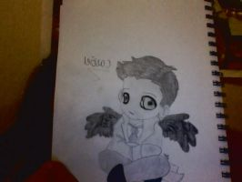 Chibi Cas by scarlet-tears24