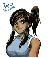 TLA: Korra by Mary-McGregor