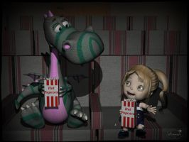 Cinema for two by mininessie66