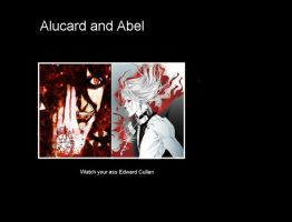 Alucard and Abel by Rei-Lien