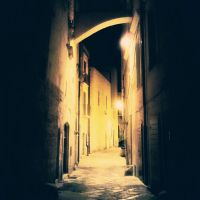 Alone in Old Town by faby8181