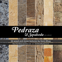 Pedraza and Sepulveda, wood and stone textures by ItomiBhaa