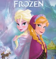 Frozen comic cover by Darsie