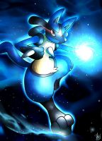 Lucario by Smudgeandfrank