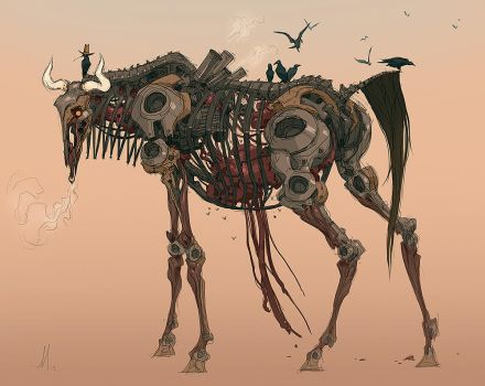 Wildebot by andrewmar