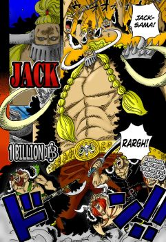 JACK THE DROUGHT - One Piece Chapter 810 by RickMarques