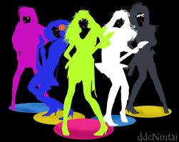 The Misfits: neon shadow by lilmiss-sailorenigma
