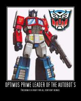 Optimus Prime motivational by DevintheCool