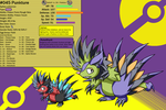 Chushin Pokedex - 045 - Punkture by Inika-Hero