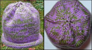 R's baby hat by mailledragon