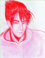 Jin  kazama in red by marvioxious89