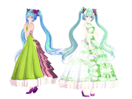 [2000 watchers gift] Tda Miku Happiness Commitee by YamiSweet