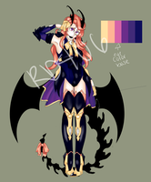 Demon adoptable Auction -CLOSED- by Rd406