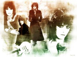 I Love R and R Joan Jett by TerryXart