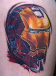 iron man by optimuspint